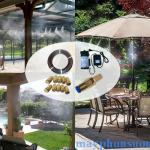 Cập nhật giá cả hệ thống phun sương 2017